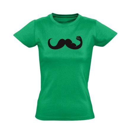 Fickós urológiai női póló (zöld)