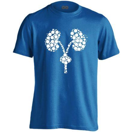 Kiválasztás urológiai férfi póló (kék)