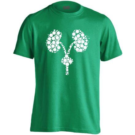 Kiválasztás urológiai férfi póló (zöld)
