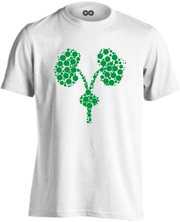 Kiválasztás urológiai férfi póló (fehér)
