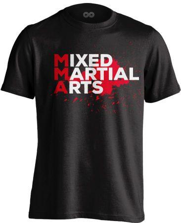 Mixed Martial Arts MMA póló (fekete)