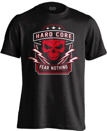 Fear Nothing MMA póló (fekete)