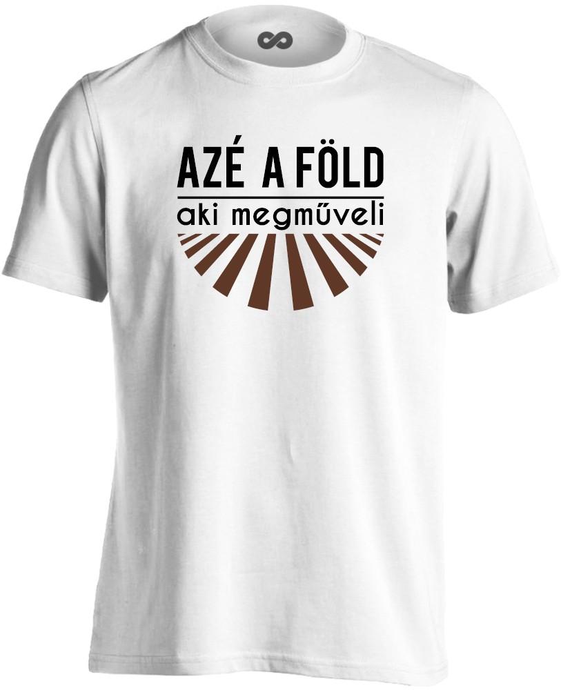 c366560f7d AzéAFöld férfi póló (fehér)