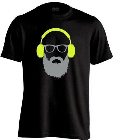 BearDJ DJ férfi póló (fekete)