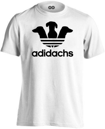 Adidachs tacskós férfi póló (fehér)