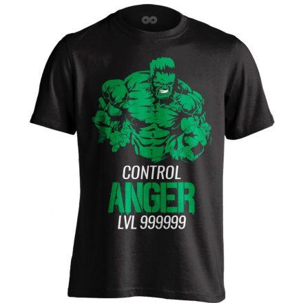 Control Anger body building póló (fekete)