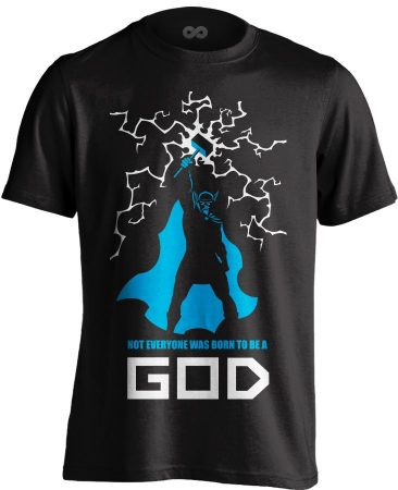 God Of Thunder body building póló (fekete)