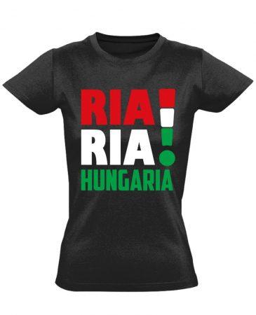 Ria, Ria női póló (fekete)