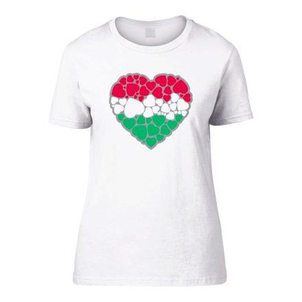 EgyüttDobban női póló (fehér)