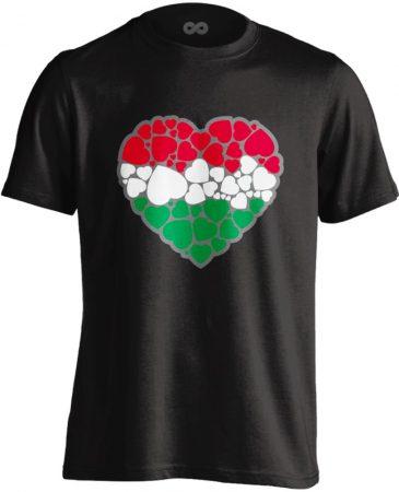 EgyüttDobban férfi póló (fekete)