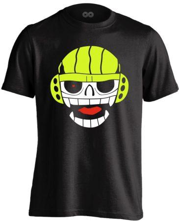 Skill Skull vízilabdás férfi póló (fekete)