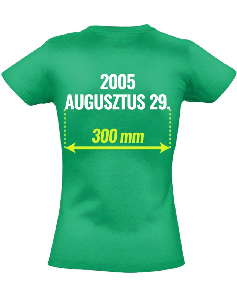 12ad6da83d Egyedi fényképes férfi póló 25 cm széles képpel (zöld) - PólóVerzum
