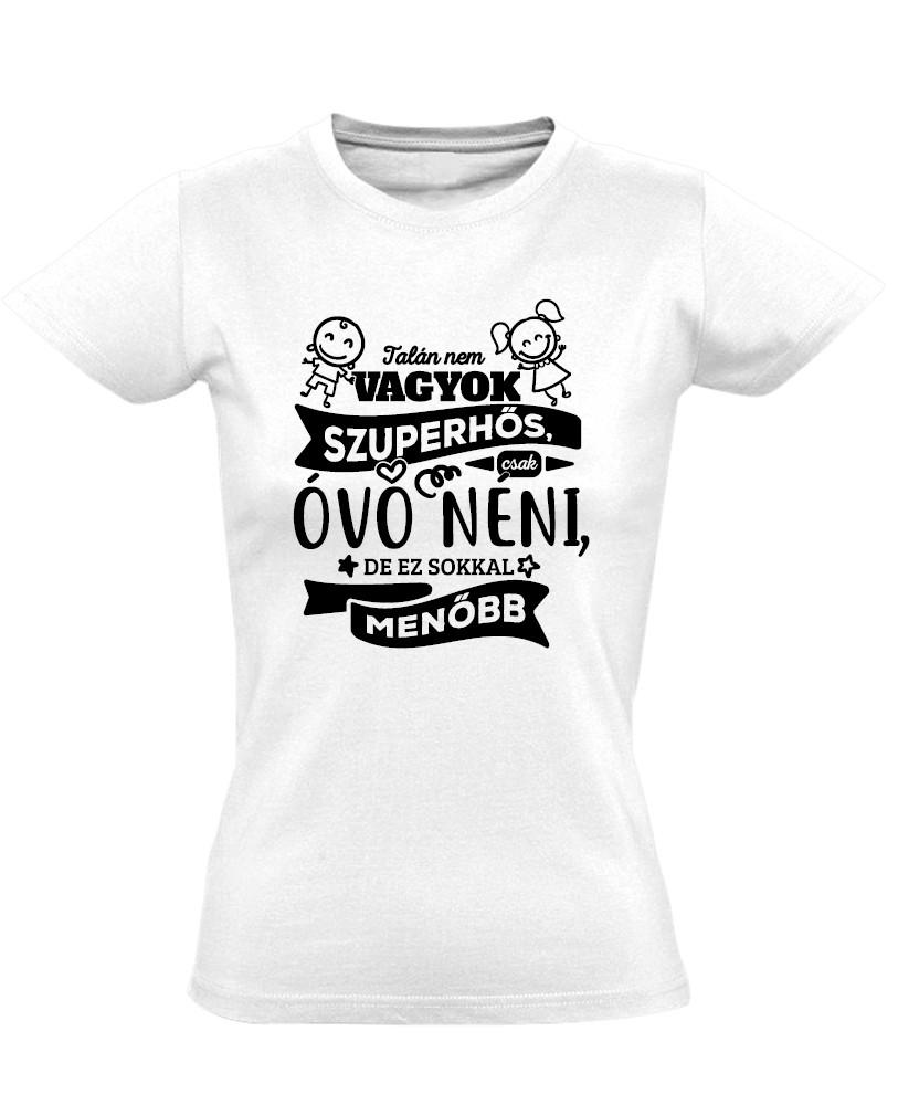 ÓvóWoman óvónéni női póló (fehér) - PólóVerzum 17446e4d28